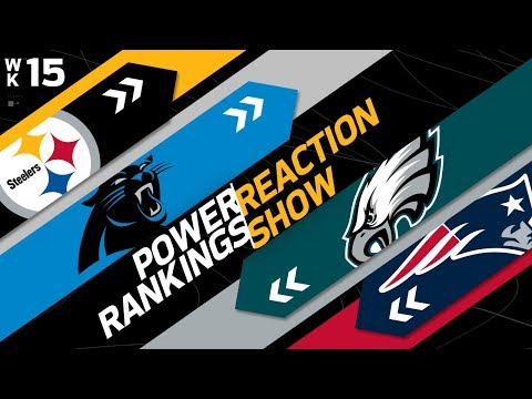 Power Rankings Week 15 Reaction Show: Another New #1 in the NFL | NFL Network