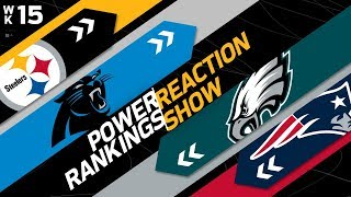 Power Rankings Week 15 Reaction Show: Another New #1 in the NFL   NFL Network