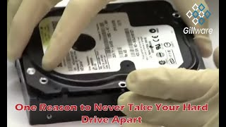 Here's one reason to never take your hard drive apart