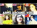 Who Sang It Better - xxxtentaction - Arms around you [ US. UK, Canada, England, California]