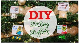 FUN DIY STOCKING STUFFERS |  KIDS CHRISTMAS CRAFTS  |   VLOGMAS 2018 DAY 11