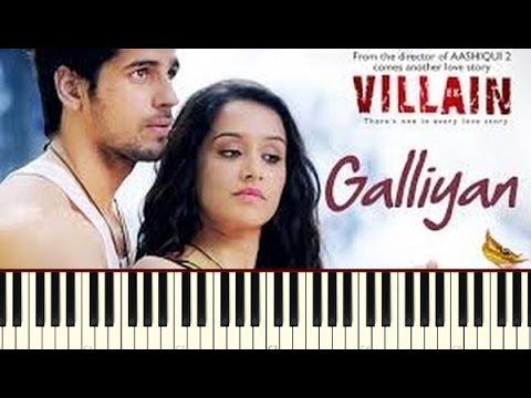 Galiyan (Ek Villain) Piano Tutorial ~ Piano Daddy
