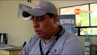 Cilindro de gas propano no tiene el peso exacto en Jutiapa   ESTUARDO DEL CID