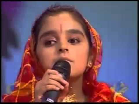 Индийская слепая девочка-Васундхара Ратури