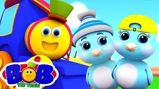 две маленькие птички | детские песни | Bob The Train Russia | развивающий мультфильм