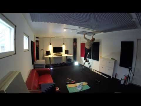 How to build a home recording studio in 10 days