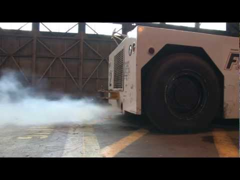 Detroit Diesel GM 6.2L cold start diesel aircraft tow tractor