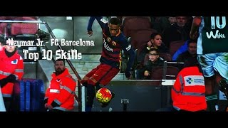 Neymar Jr - Top 10 Skills FC Barcelona 2016/2017 | 1080i | HD
