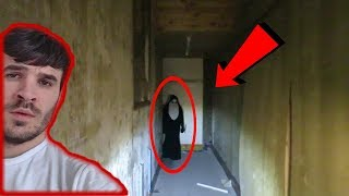 Chased by Real Ghost NUN! Worlds Most Haunted Abandoned Chapel