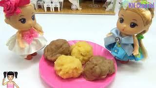 Thơ Nguyễn - Đồ chơi popin cookin làm bánh donus