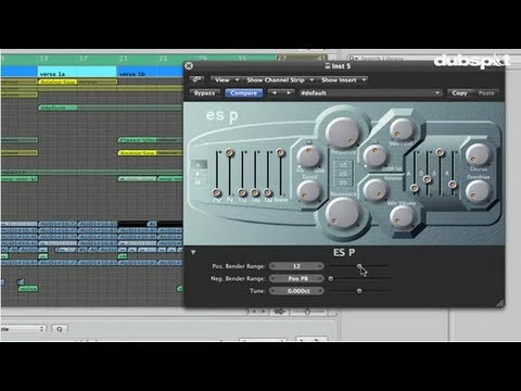Logic Pro Tutorial: Filter Sweeps + Transition Effects Using ES P Synthesizer w/ Matt Shadetek