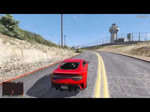 GTA 5 - Five Star Escape  + Hookies Bar Massacre and Escape From Military Base