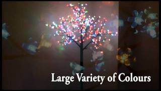 Pre Lit LED Blossom Tree
