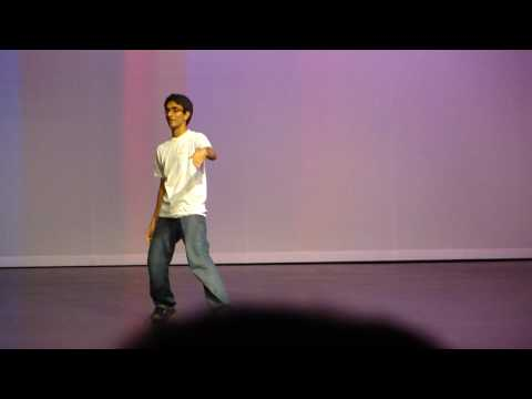 harindra lakshya popping performance with some different moves...