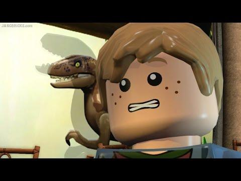 LEGO Jurassic World gameplay! JP pt. 5 Visitor Center + commentary