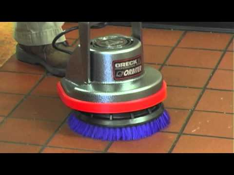 Oreck Orbiter Floor Machine Tile Cleaning DIY Reviews