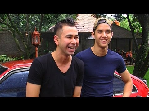 Raffi Ahmad Ajak Al Ghazali Syuting Video Klip - Intens 03 Februari 2014 video