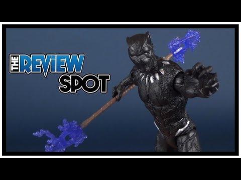 Toy Spot   Hasbro Black Panther Movie Black Panther Figure