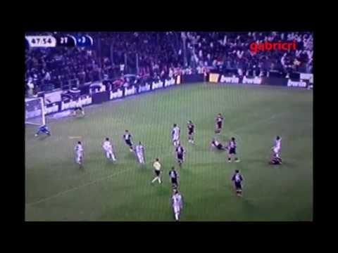 Juventus Torino 2 1 Zuliani reazione al gol Pirlo allo scadere