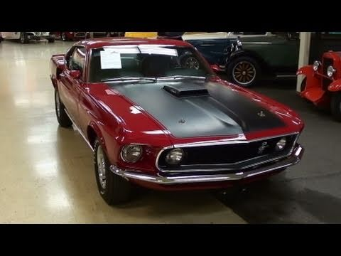 1969 Ford Mustang Mach One 428 Cobra Jet Muscle Car