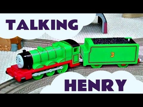 Trackmaster Thomas & Friends TALKING HENRY Kids Toy Train Set Thomas The Tank Engine