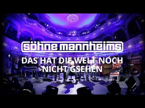 Söhne Mannheims - Das hat die Welt noch nicht gesehen [Official Video]