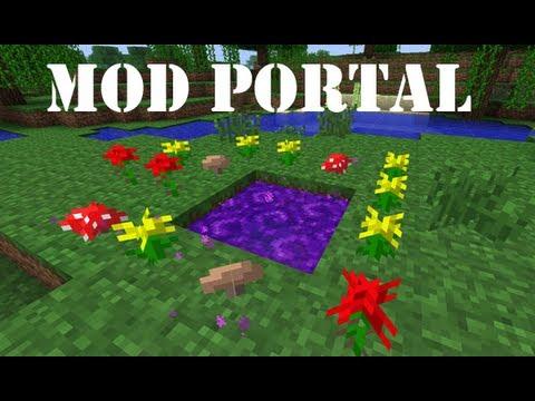 Review Portal Nuevo / Mod en la descripción / Minecraft 1.4.7 / twilight-forest (nombre de portal)