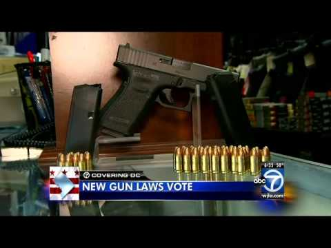 D.C. gun laws up for council vote