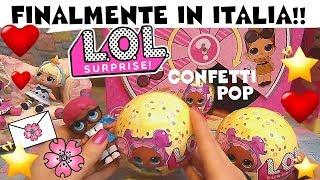LOL SURPRISE Confetti Pop #71 Esce la nostra PREFERITA!!! doppio unboxing By Lara e Babou