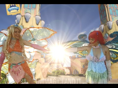 Winx Club Cosplay Enchantix vs Valtor  Bloom and Stella Folge 2