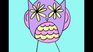 How To Draw An Owl Step-by-Step Drawing Tutorial For Kids And Beginners