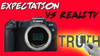 Canon EOS RP is NOT True Full Frame (Proof)