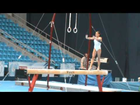 Jessica Lopez Beam Q World Stars FIG World Cup  Moscow