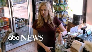 White woman and Black man steal money from deli tip jar [TIP JAR PART 1] | What Would You Do?