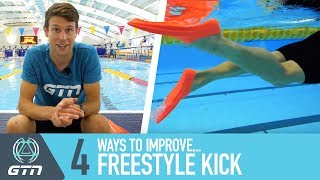 4 Ways To Improve Freestyle Kick | Front Crawl Swimming Tips For Triathletes