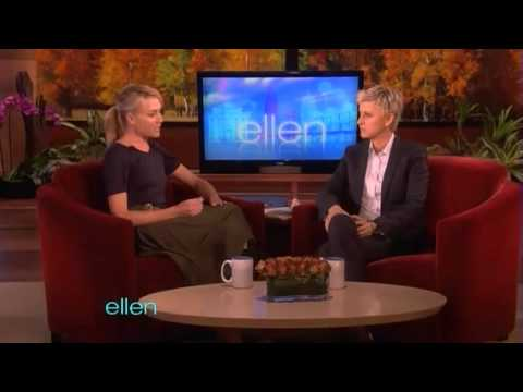 Portia de Rossi on The Ellen DeGeneres Show - 4th November 2011 - Part 2/2