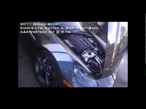Mayhem Motorsports: 2011 Corvette Grand Sport Vortech Supercharger [Dyno]