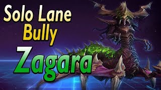 Zagara, one of the biggest solo lane bullies.