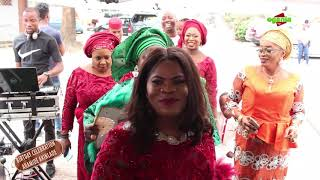 LAGOS LADIES: surprise Mrs Aramide Akinlade 60th birthday