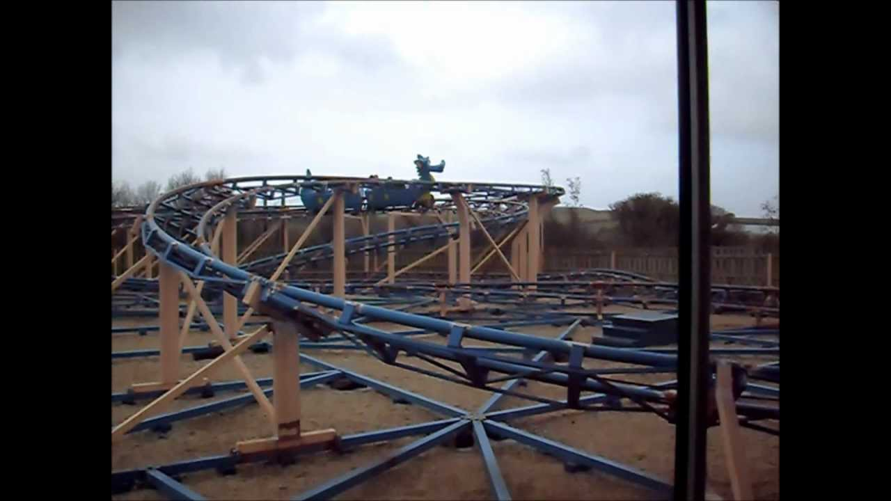 Morgawr morgawr roller coaster at