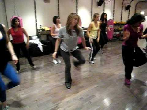 Lisa Marie s Thriller workout at Flirty Girl Fitness