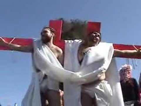 Hunky Jesus Contest Video