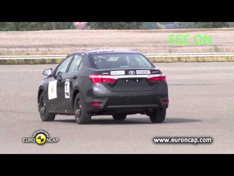 Euro NCAP | Toyota Corolla | 2013 | ESC краш-тест