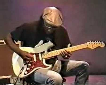 Buddy Guy plays the blues.