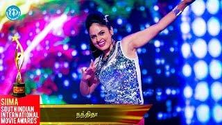 Nandita Dazzling Dance Performance || SIIMA 2014 Awards