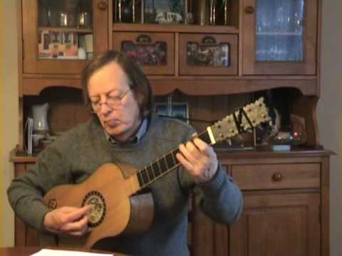 Gaspar Sanz, Españoletas - Baroque guitar