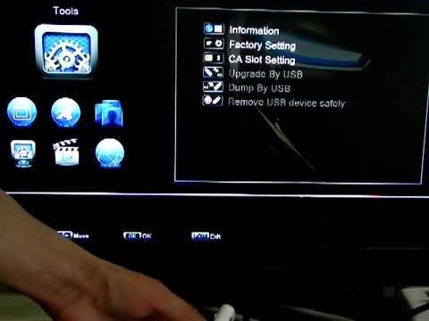 Skybox F3   Atualizando