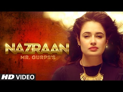 Nazraan | Mr Gurps | Yuvika Chaudhary | V Grooves | Latest Punjabi Video Songs 2