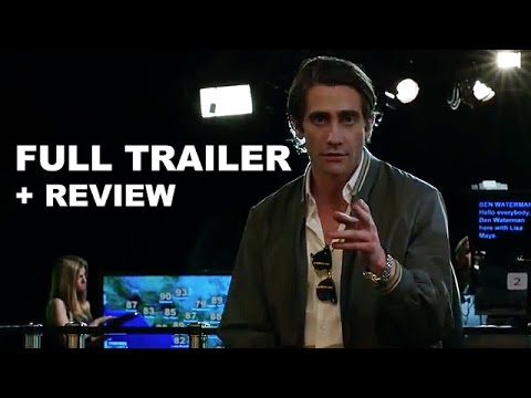 Nightcrawler 2014 Official Trailer + Trailer Review : Beyond The Trailer klip izle