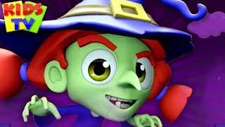 It's Halloween Night | Super Supremes Cartoons | Halloween Music for Kids